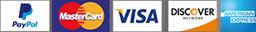 paypal cc logos